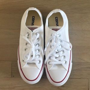 Converse Shoes - White low rise Converse sneakers